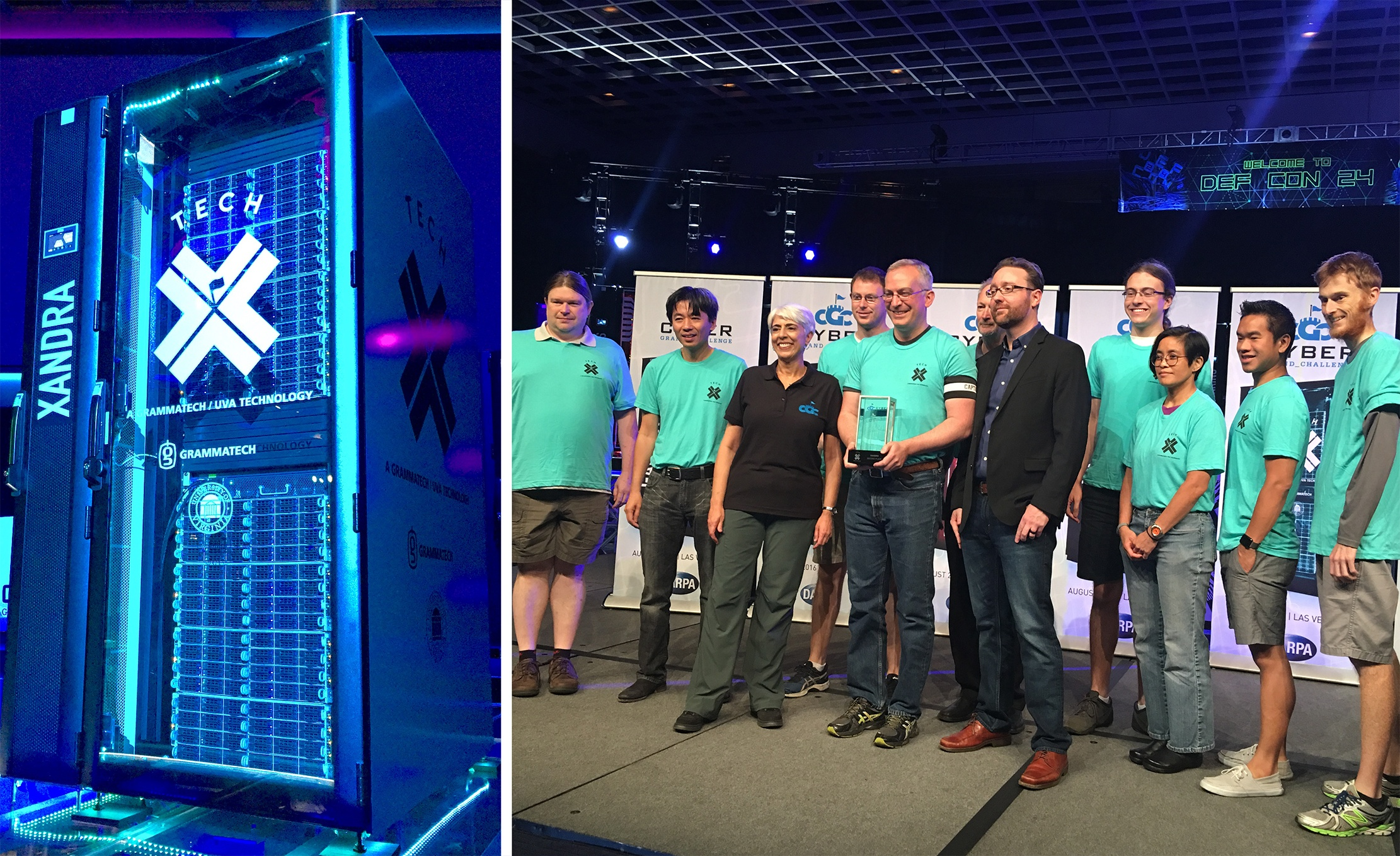 GrammaTech's Team TECHx Places Second in DARPA's Cyber Grand Challenge